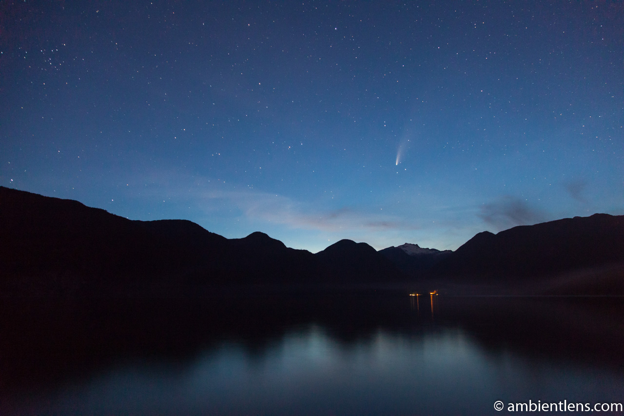 Neowise Comet over Squamish, BC 1
