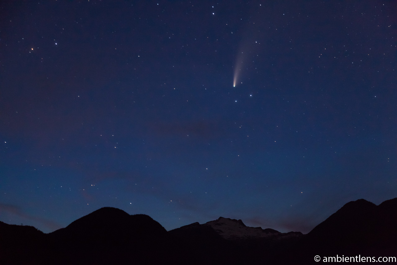 Neowise Comet over Squamish, BC 2