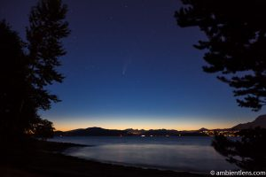 Neowise Comet over Spanish Banks, Vancouver, BC 3