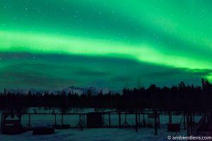 Aurora Borealis over Yukon 2