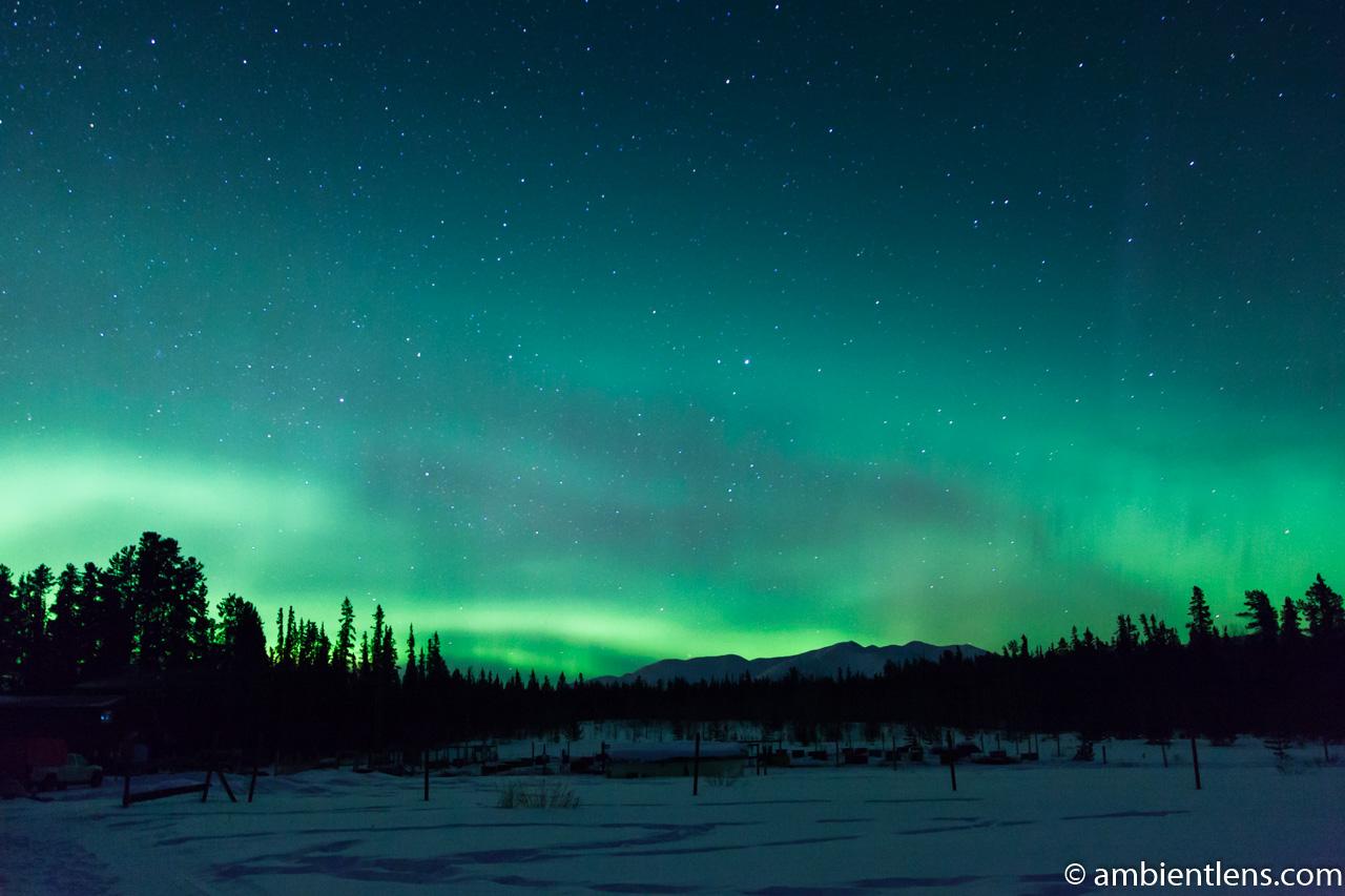 Aurora Borealis over Yukon 1