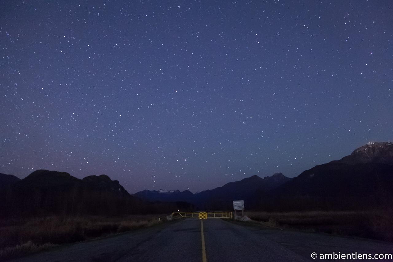 Starry Night at Pitt Meadows