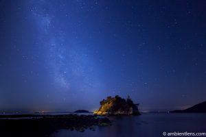 Milky Way over Whyte Cliff Park 1