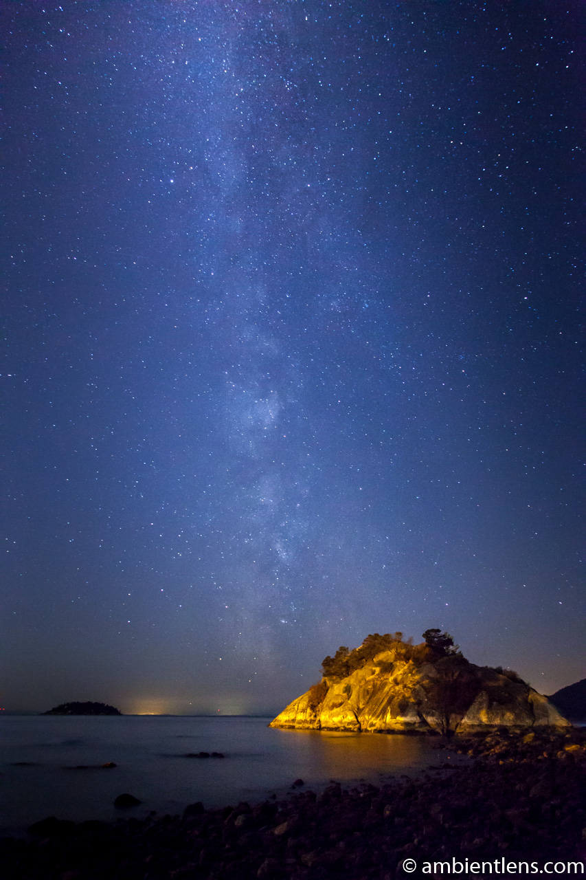 Milky Way over Whyte Cliff Park 3