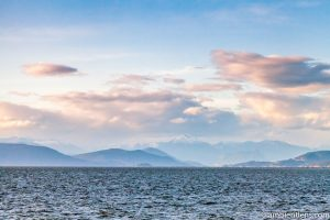 View of Howe Sound from Iona Beach