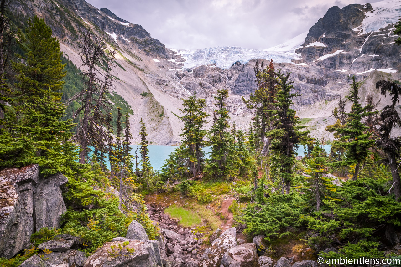 Joffre Lakes - Upper Lake 2