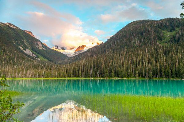 Joffre Lakes - Lower Lake 8