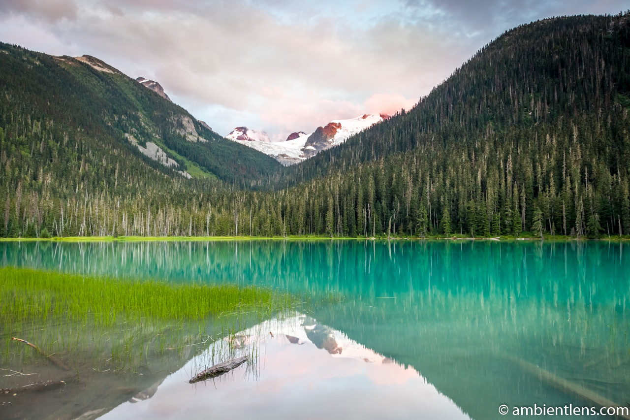 Joffre Lakes - Lower Lake 12
