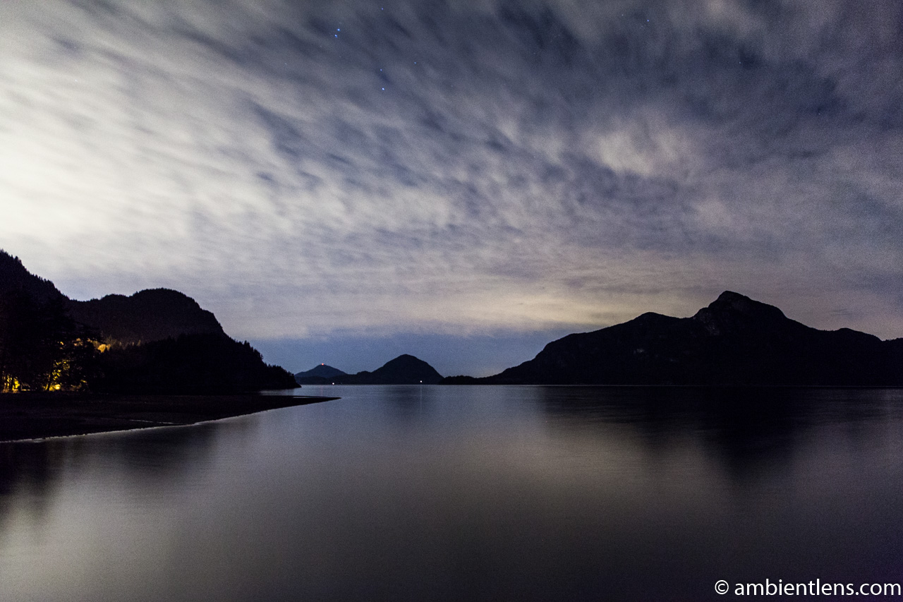 Porteau Cove at Night 1