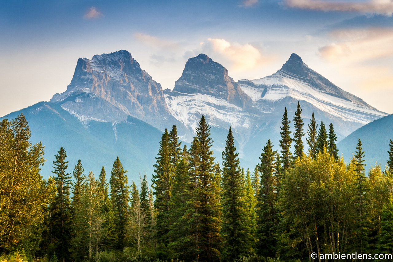 Three Sisters, Canmore, Alberta