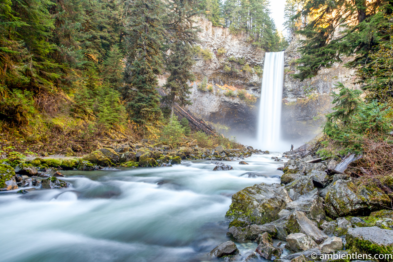 Hiking Brandywine Falls, Whistler, BC