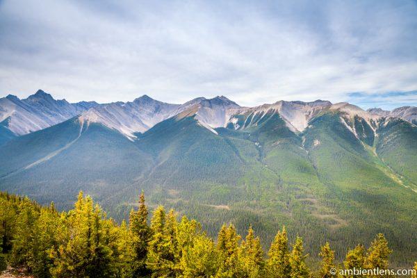 Banff Mountain Range