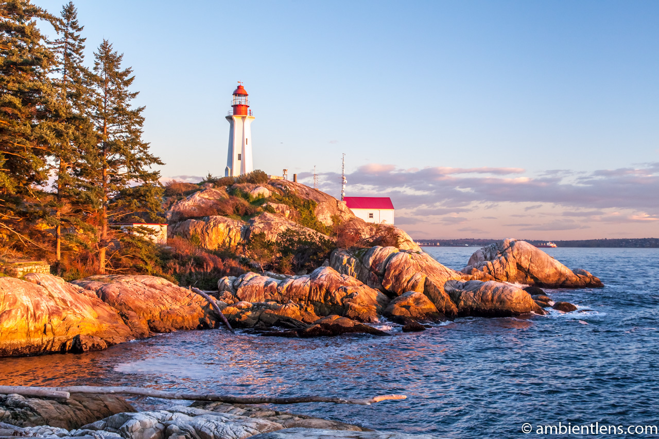 Point Atkinson Lighthouse at Sunset 1