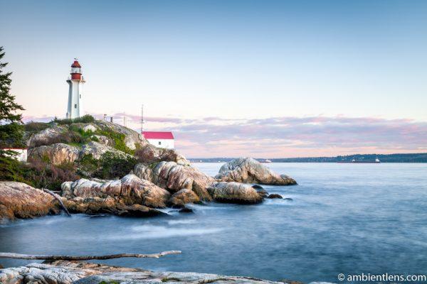 Point Atkinson Lighthouse at Sunset 2