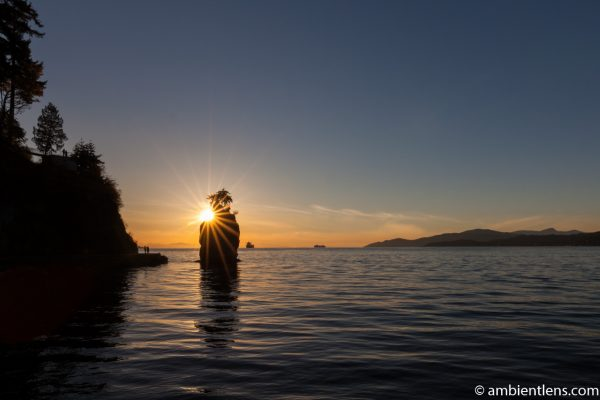 Siwash Rock, Stanley Park, Vancouver, BC