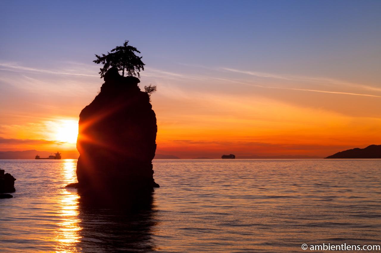 Siwash Rock, Stanley Park, Vancouver, BC 2
