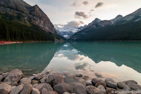 Sunset at Lake Louise, Banff, Alberta 2