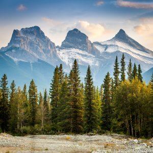 Three Sisters, Canmore, Alberta (SQ)