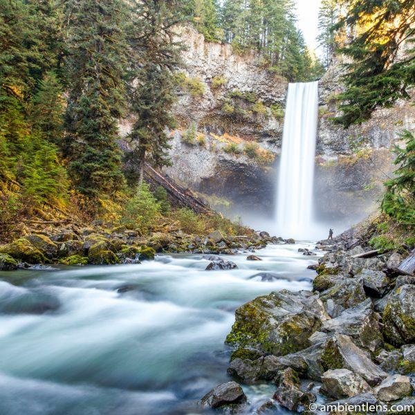 Hiking Brandywine Falls, Whistler, BC (SQ)