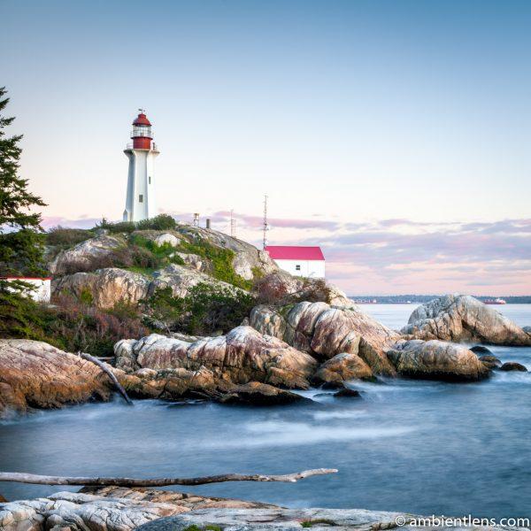 Point Atkinson Lighthouse at Sunset 2 (SQ)