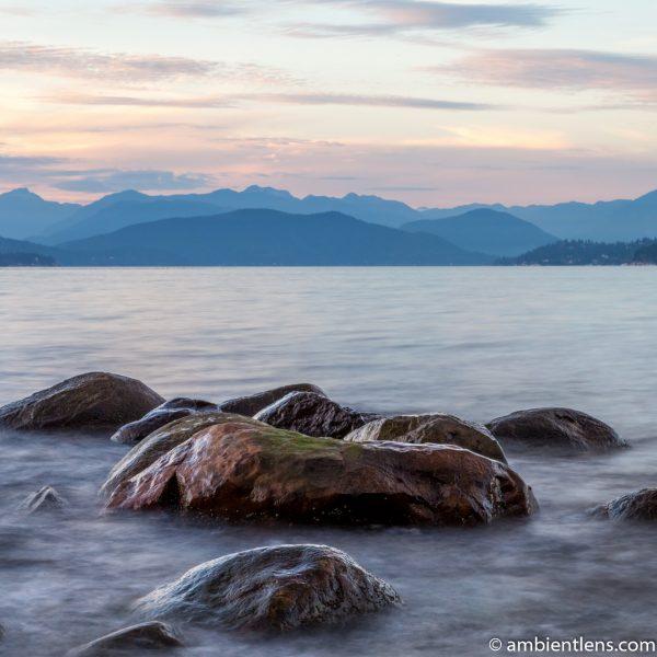 Big Rocks at Acadia Beach, Vancouver, BC 2 (SQ)