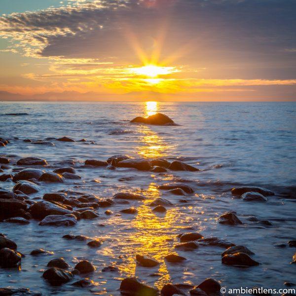 Acadia Beach Sunset (SQ)
