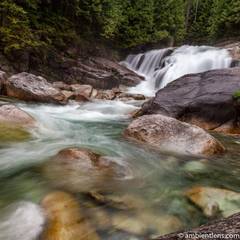 Gold Creek Falls, Maple Ridge, BC 2 (SQ)
