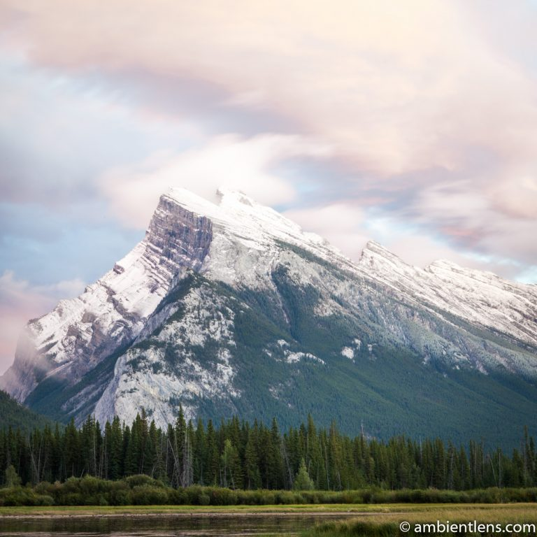 Mount Rundle, Banff, Alberta 3 (SQ)