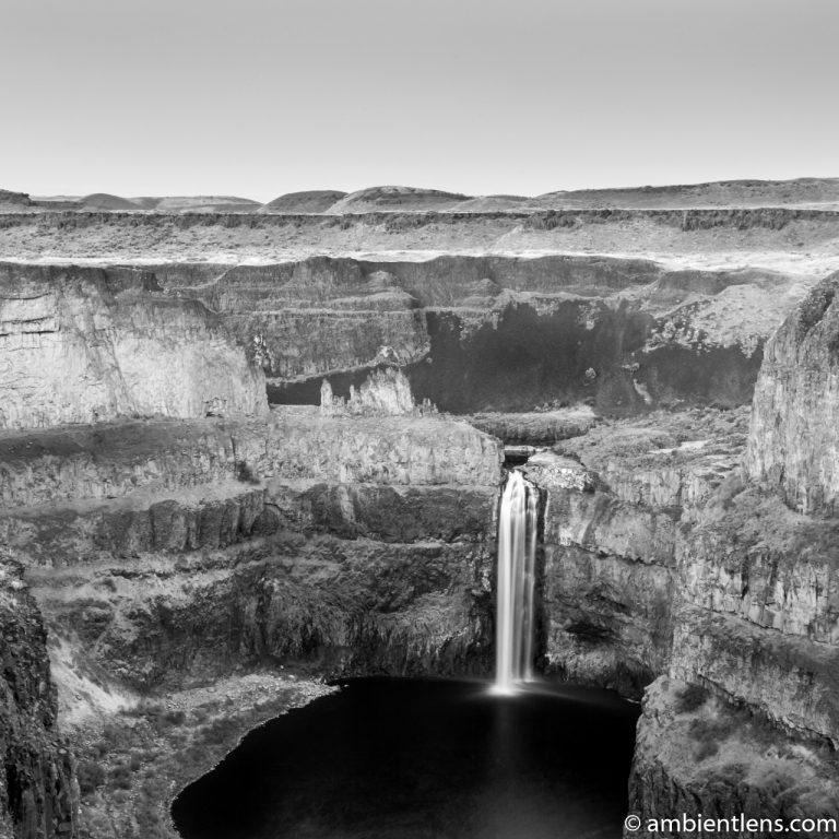 Palouse Falls 7 (BW SQ)