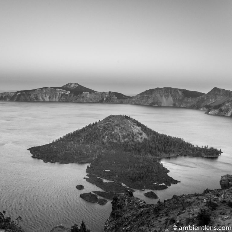 Crater Lake 4 (BW SQ)
