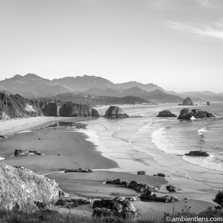 Cannon Beach 2 (BW SQ)