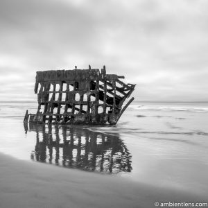 The Peter Iredale Shipwreck 2 (BW SQ)