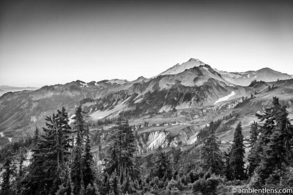 Mount Baker, WA (BW)