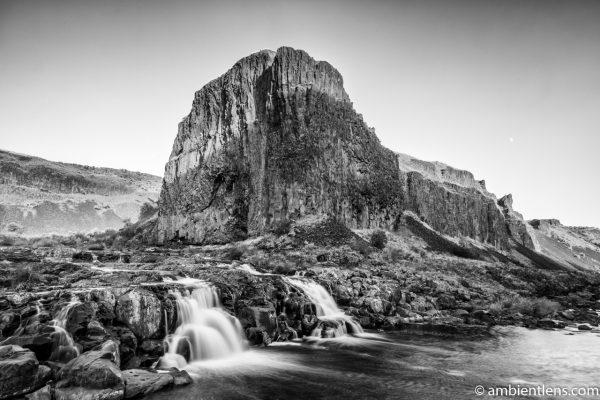 Little Palouse Falls 2 (BW)