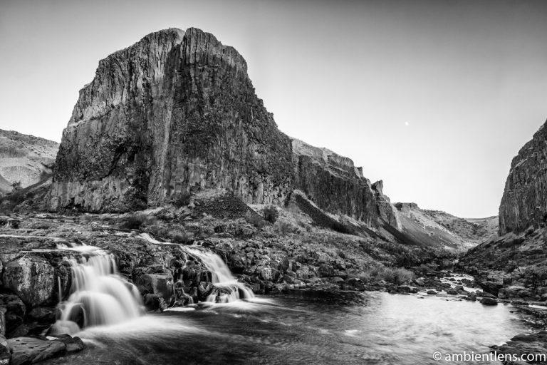 Little Palouse Falls 4 (BW)