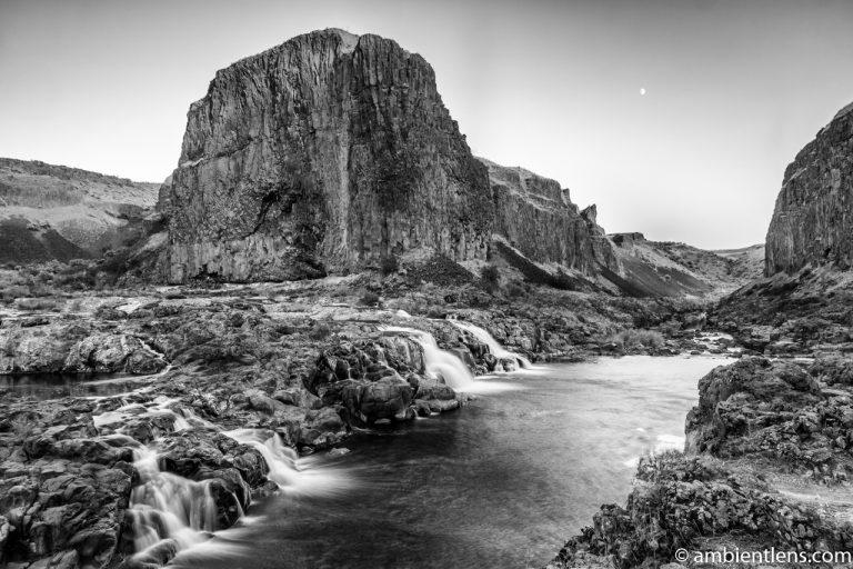 Little Palouse Falls 5 (BW)