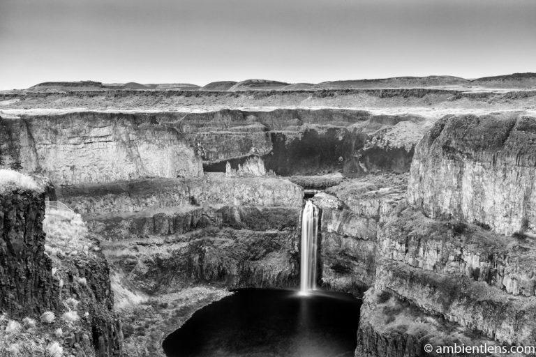 Palouse Falls 7 (BW)