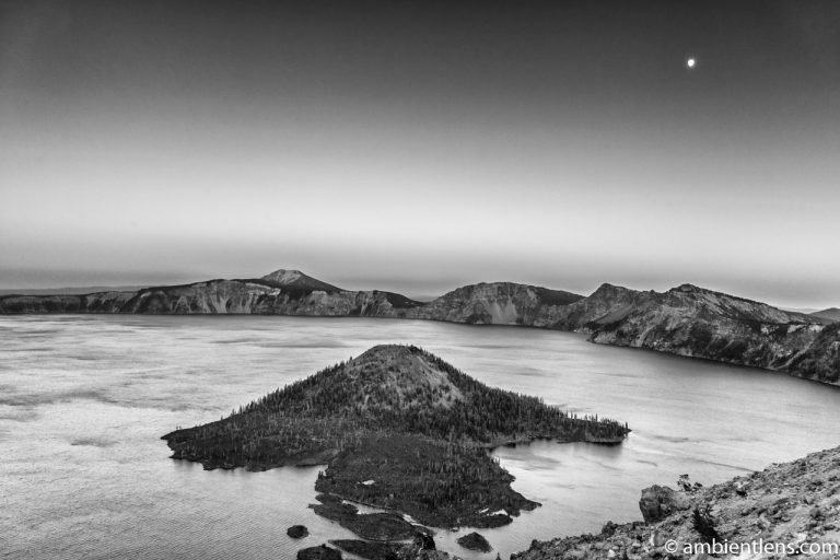 Crater Lake 2 (BW)