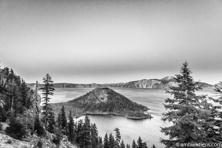 Crater Lake 5 (BW)