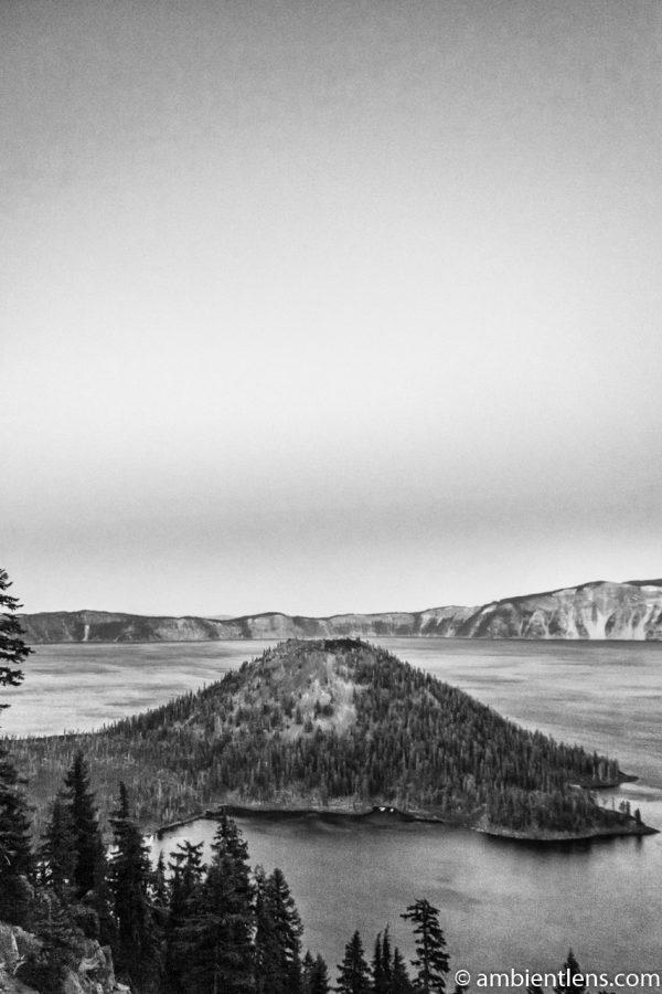 Crater Lake 6 (BW)