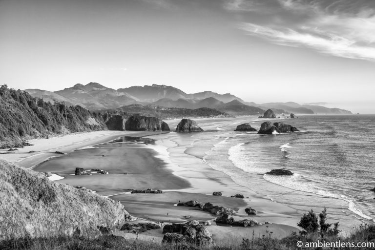 Cannon Beach 2 (BW)