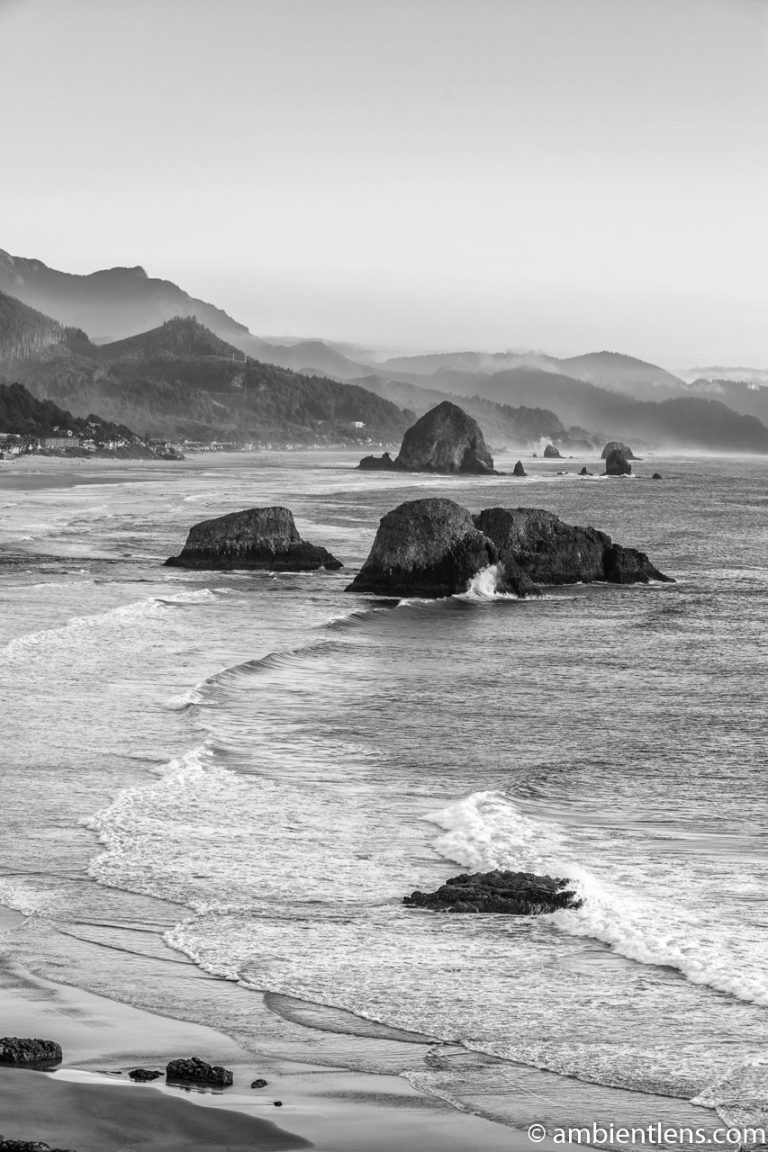 Cannon Beach 3 (BW)
