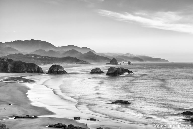 Cannon Beach 4 (BW)
