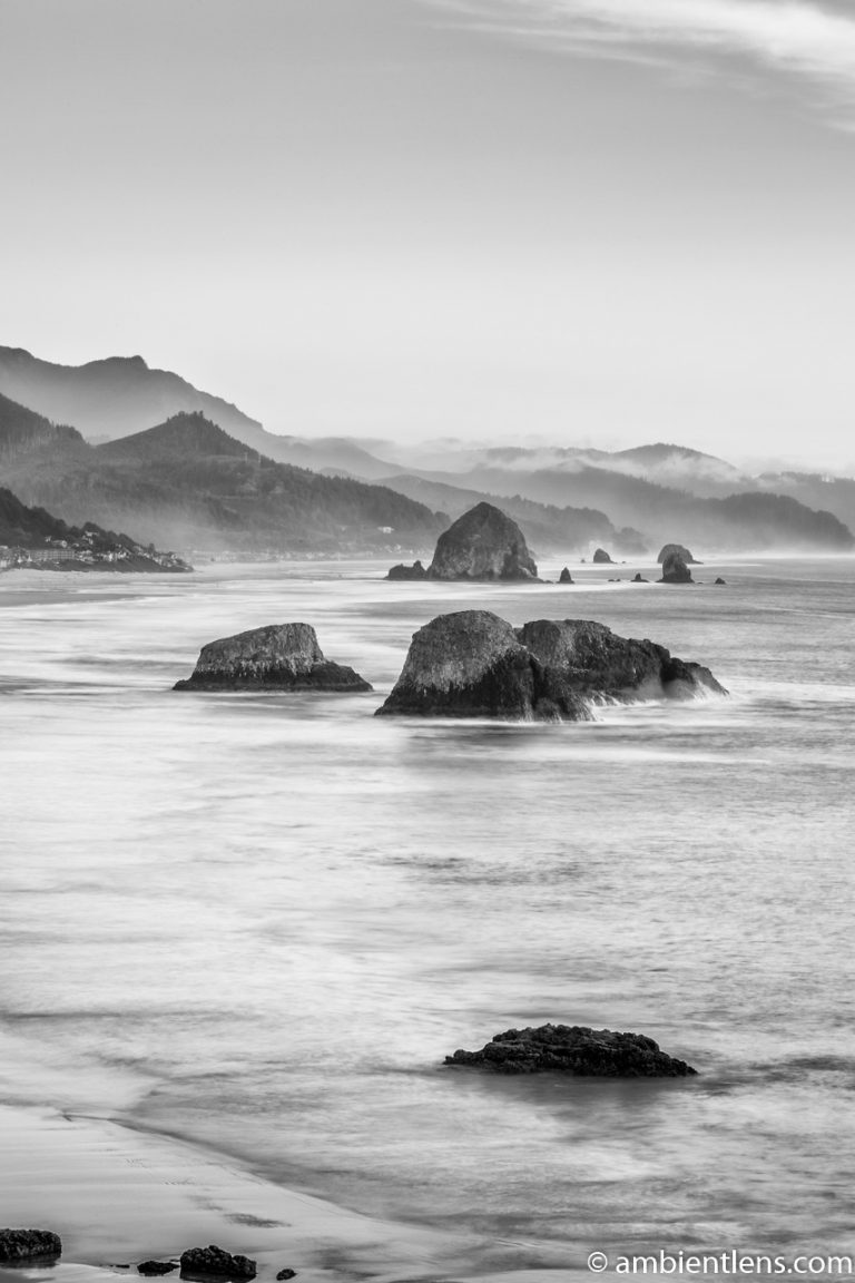Cannon Beach 5 (BW)