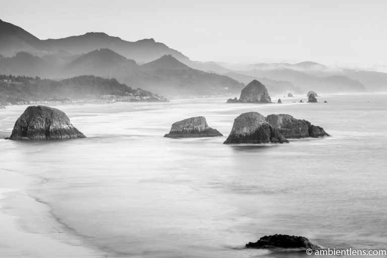 Cannon Beach 6 (BW)