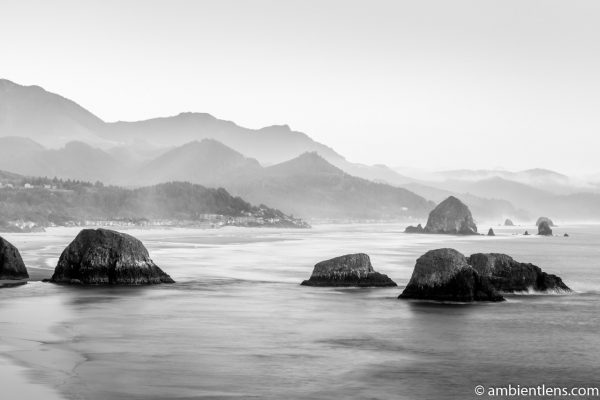 Cannon Beach 7 (BW)