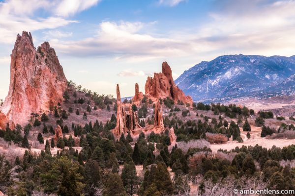 Garden of the Gods Rock Formation 1