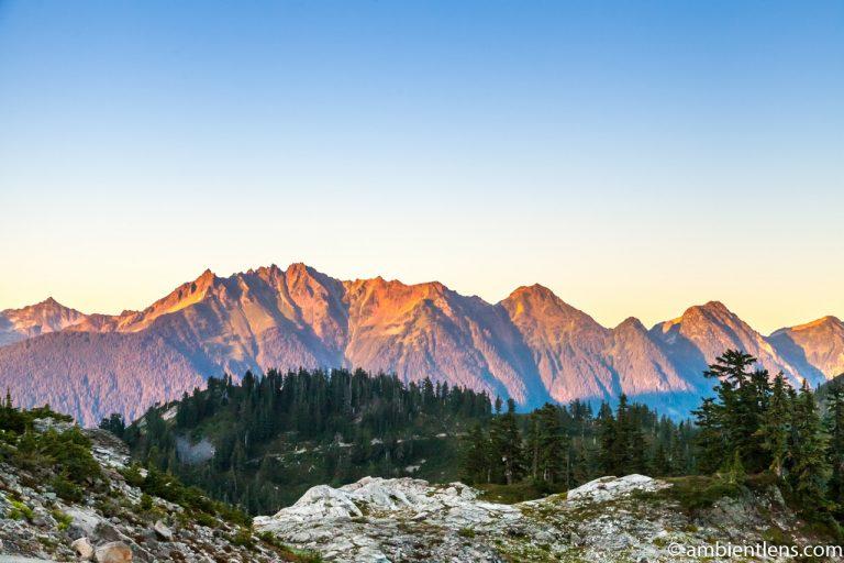 Washington State Mountain Range