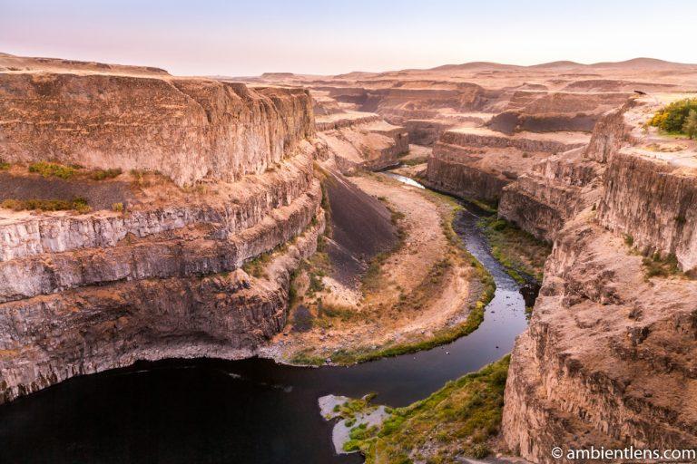 The Canyon at Palouse Falls 1