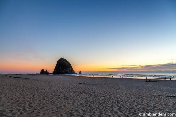 Haystack Rock at Sunset 2
